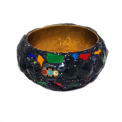 Andrew Logan harlequin bangle bracelet