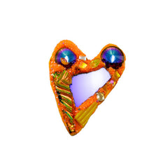 Orange and Blue heart, 2014