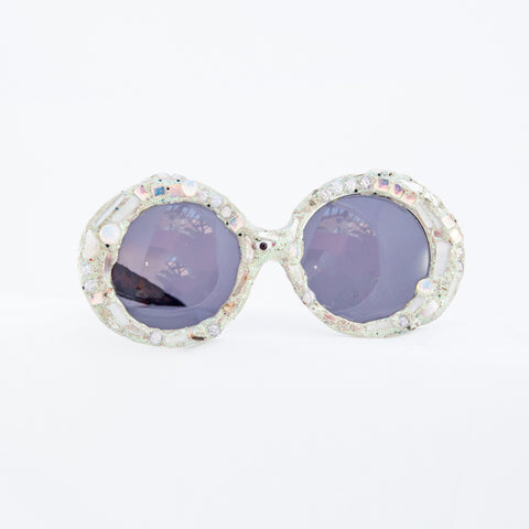 White Vintage Sunglasses, 1997