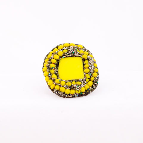 Yellow and Silver Ring, 2012