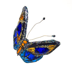 BLUE BUTTERFLY SCULPTURE or MOBILE
