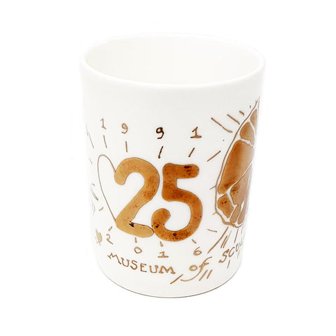 CHINA MUG - 25 YEARS of ANDREW LOGAN MUSEUM