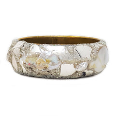 ANDREW LOGAN SILVER BANGLE