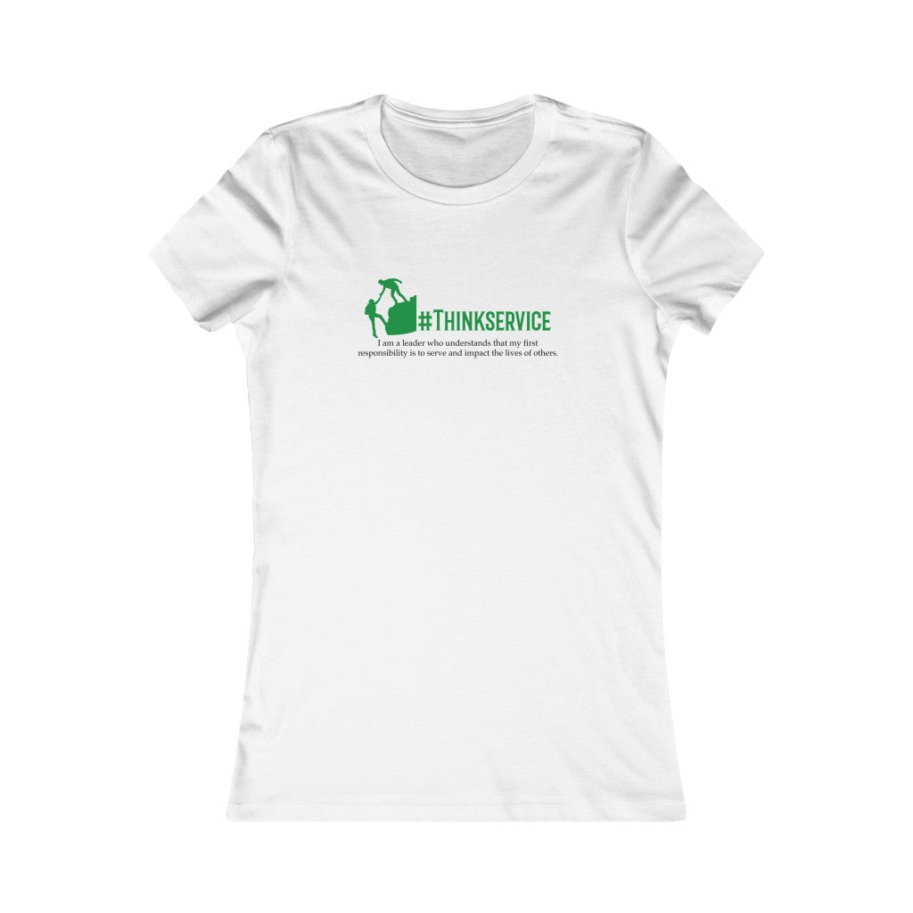 Think Service Women's T-Shirt