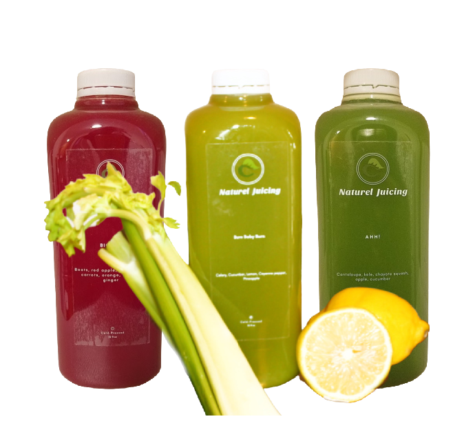 3-DAY Body Detox Level I - Naturel Juicing