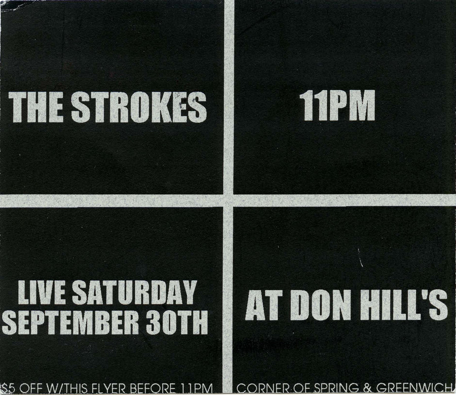 Don Hill's, The Strokes