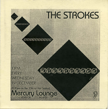 Mercury Lounge, The Strokes, December