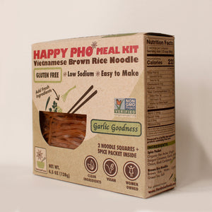 HAPPY PHO Garlic Goodness Meal Kit - Pack of 6