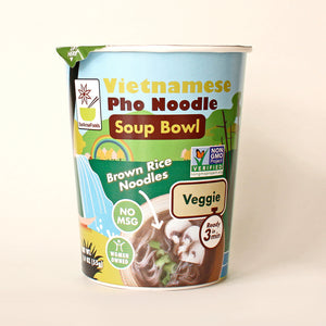Vietnamese Pho Noodle Soup Bowl Veggie - Pack of 6