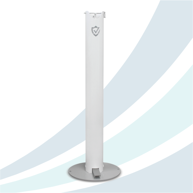 Shield Pedal Activated Sanitizer Dispenser - Original - Dealer
