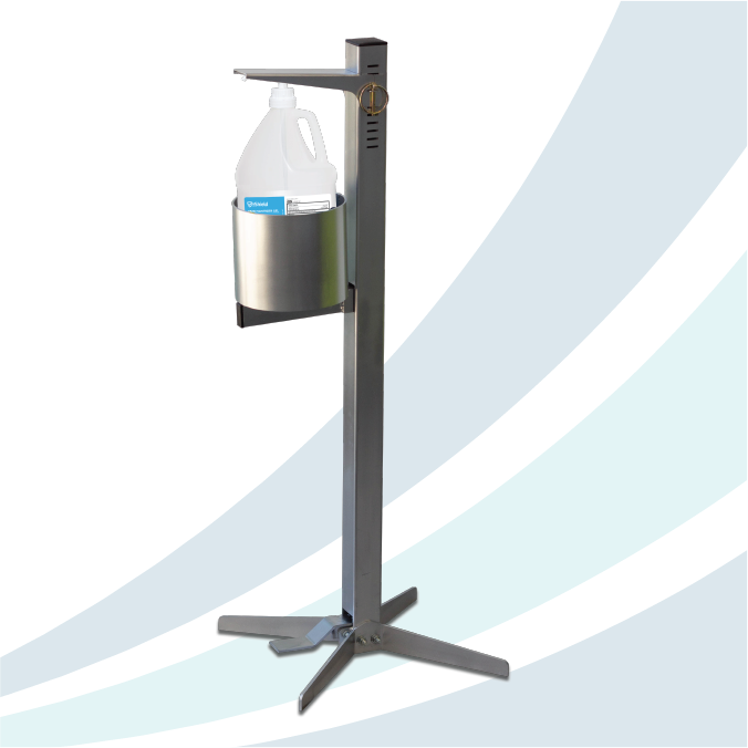 Shield Pedal Activated Sanitizer Dispenser - Industrial - Dealer