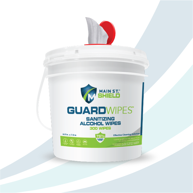 GuardWipes - Hospital Grade Alcohol Wipes *Only Available in USA*