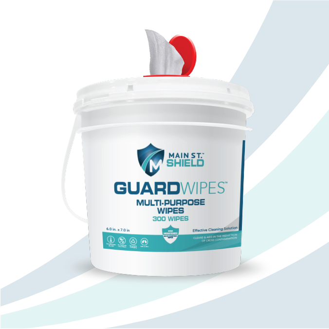 GuardWipes - Hospital Grade Multi-Purpose Wipes *Only Available in USA*