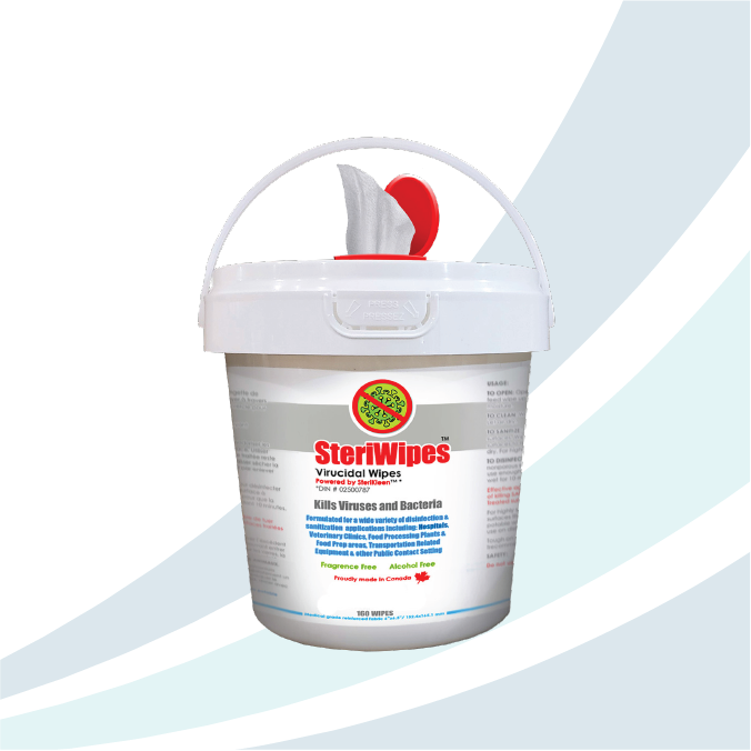 SteriWipes - Hospital Grade Disinfectant Wipes *Only Available in Canada*