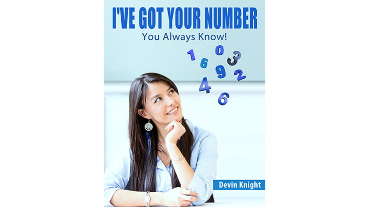 I've Got Your Number (Online Instruction and Gimmick) by Devin Knight - eBook