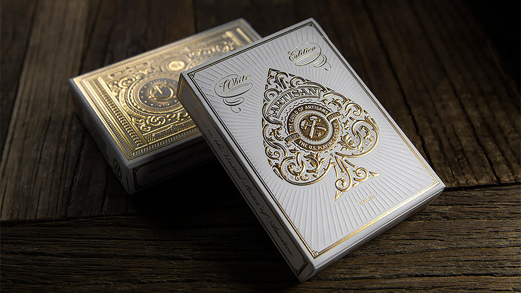 Artisan Playing Cards (White) by theory11
