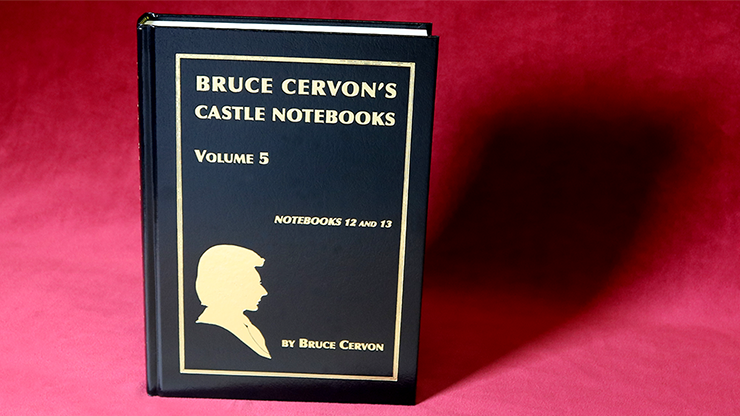 Bruce Cervon Castle Notebook, Vol. 5 - Book