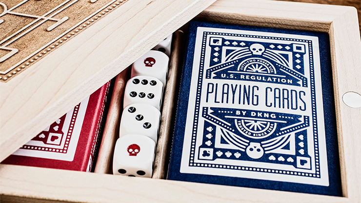 DKNG - Blue Wheel Playing Cards by Art of Play