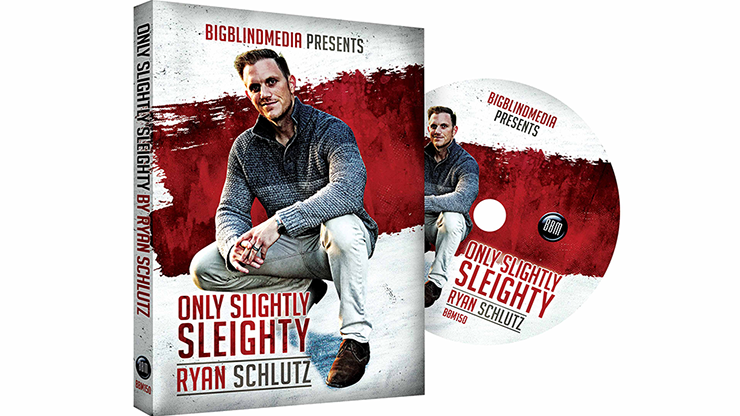 Only Slightly Sleighty by Ryan Schlutz - DVD