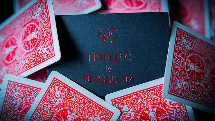 Triple C (Blue) by Christian Engblom