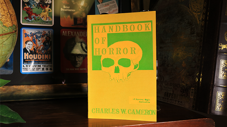 Handbook of Horror by Charles W. Cameron - Book