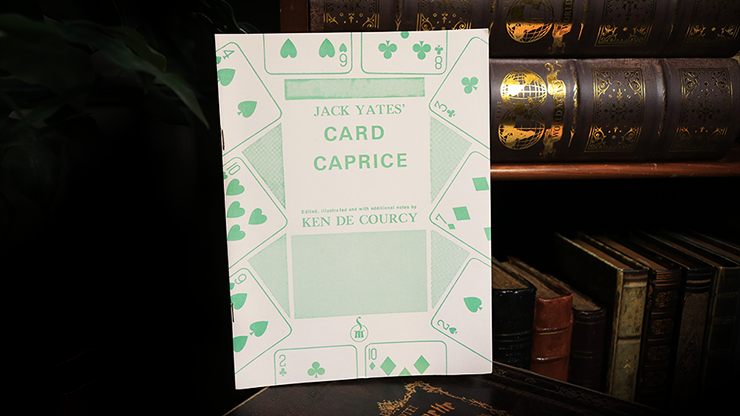 Jack Yates' Card Caprice by Ken de Courcy - Book