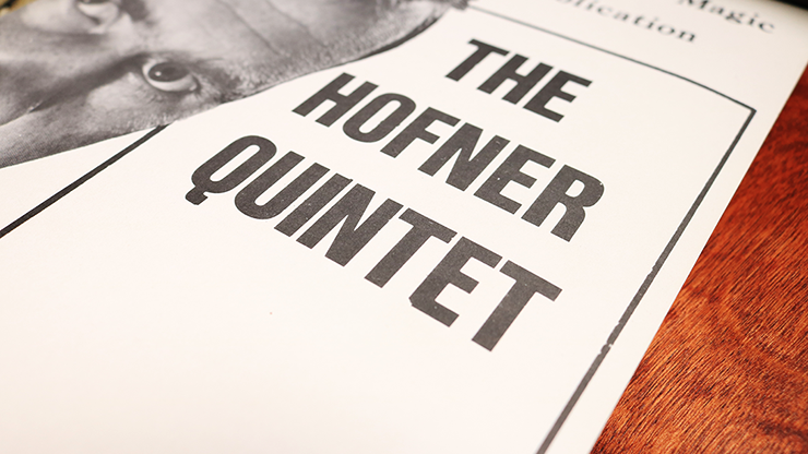 The Hofner Quintet by John Hofner - Book