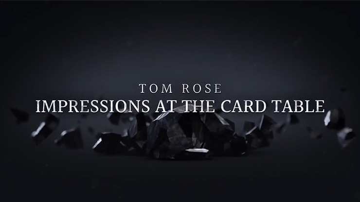 Impressions at the Card Table (2 DVD Set) by Tom Rose - DVD