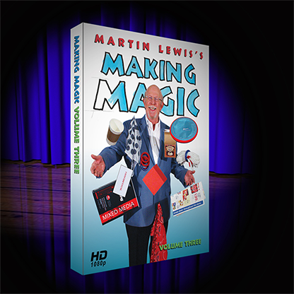 Martin Lewis's Making Magic Volume 3 - DVD