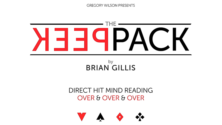 Gregory Wilson Presents The Peek Pack by Brian Gillis