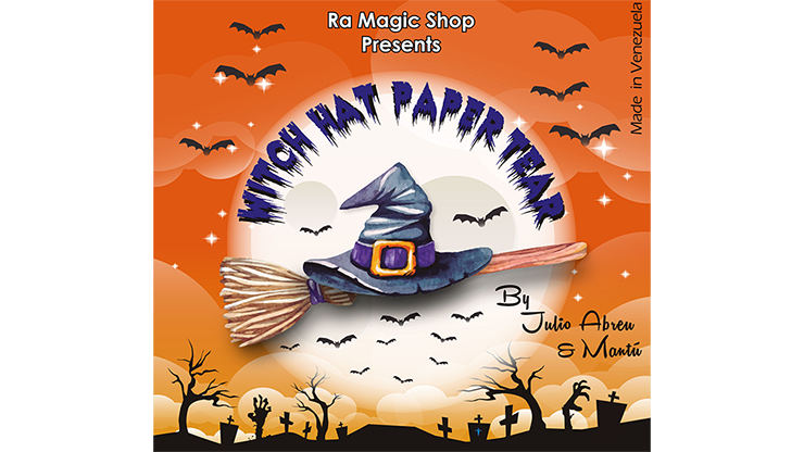 Witch Hat Paper Tear (12 pack) by Ra Magic