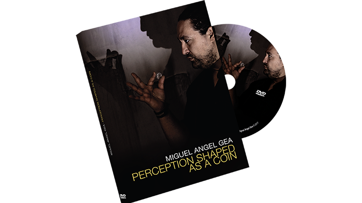 Perception Shaped as a Coin by Miguel Angel Gea - DVD