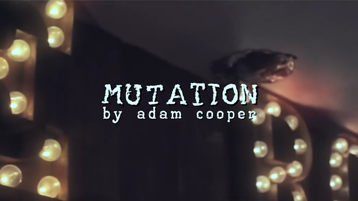 Mutation by Adam Cooper - DVD