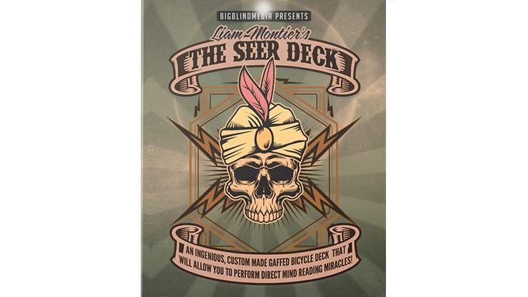 Liam Montier's THE SEER DECK (Red)
