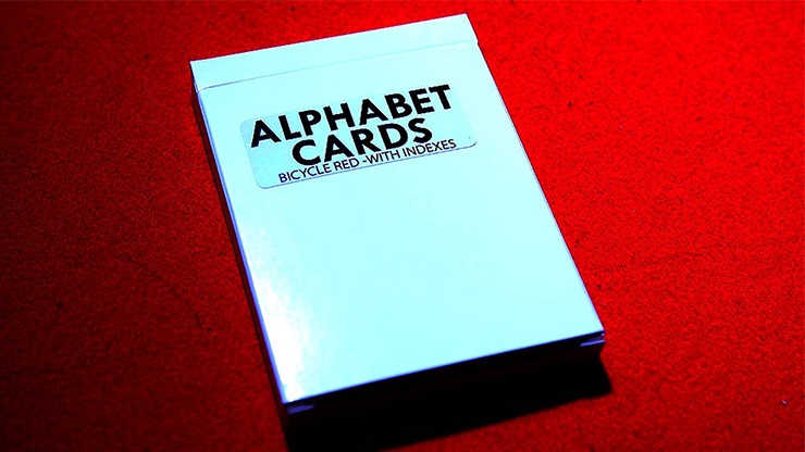 Alphabet Playing Cards Bicycle With Indexes by PrintByMagic