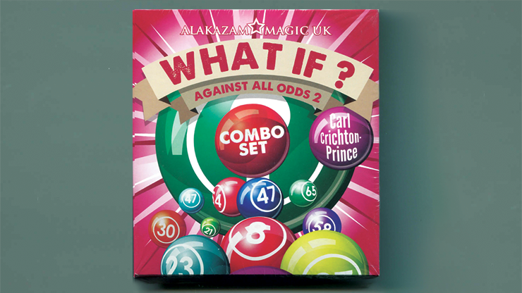 What If? (2 Decks Gimmick and DVD) by Carl Crichton-Prince - DVD