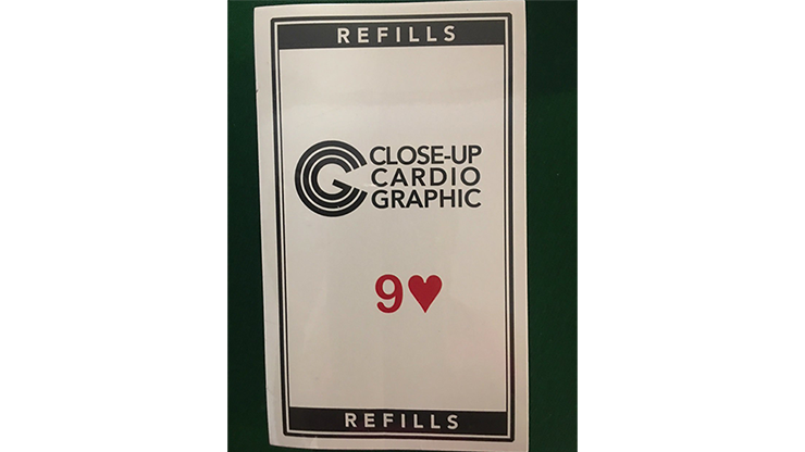 9H Refill Close-up Cardiographic by Martin Lewis