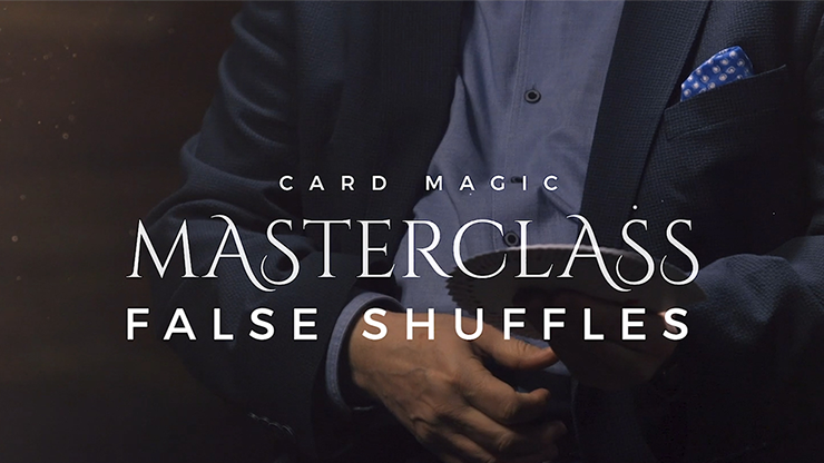 Card Magic Masterclass (False Shuffles and Cuts) by Roberto Giobbi - DVD