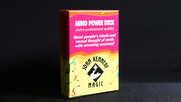 Mind Power Deck by John Kennedy Magic