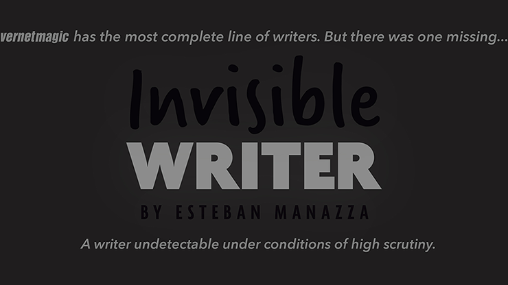 Invisible Writer (Grease Lead) by Vernet