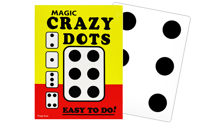 CRAZY DOTS (Stage Size) by Murphy's Magic Supplies