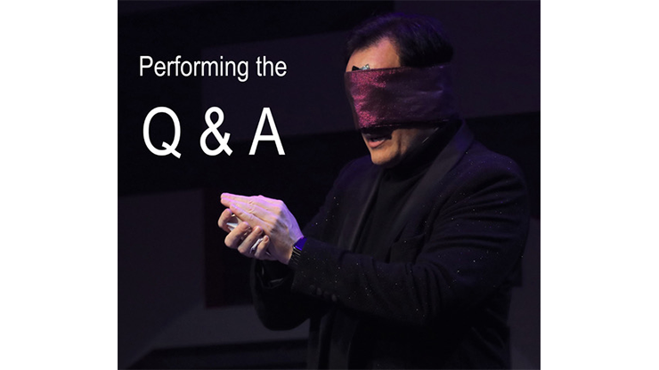 Performing the Q&A by Gerry McCambridge - Book
