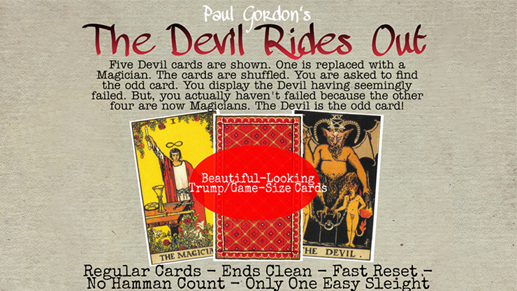 The Devil Rides Out by Paul Gordon