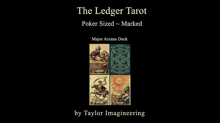 Ledger Major Arcana Deck Poker Sized (1 Deck and Online Instructions)