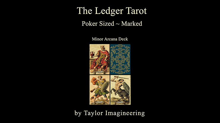 Ledger Minor Arcana Deck Poker Sized (1 Deck and Online Instructions)