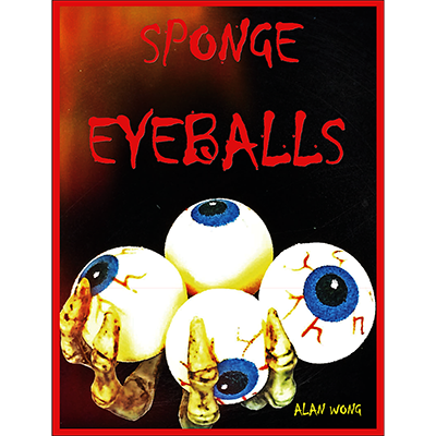 Sponge Eyeballs by Alan Wong (Bag of 4)