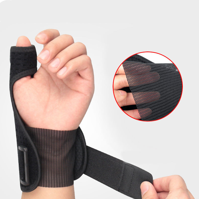 1 piece Sport Thumb wrist Support Hand Brace Wrist Guard Support Protector Finger Stabiliser Pain Relief Wrist Wrap Protection