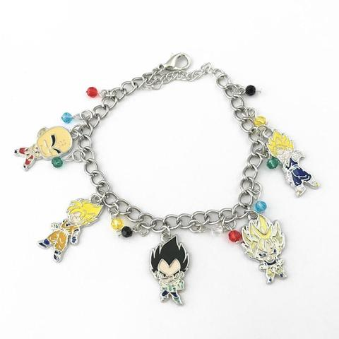 Bracelet Dragon Ball Z Saiyan (X5 Personnages)