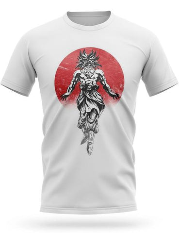 T-shirt Dragon Ball Z Broly Potentiel Infini