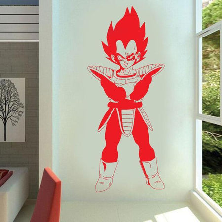 Sticker Mural Dragon Ball Vegeta Prince Saiyan
